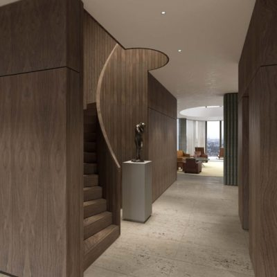 2 Entrance hall and stair