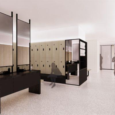 8 Locker rooms