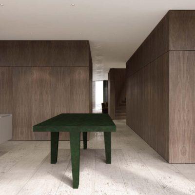 9 Family kitchen, island