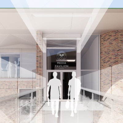 Route to the player's entrance